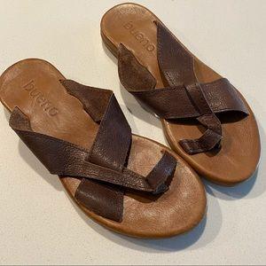Bueno Criss Cross Sandals